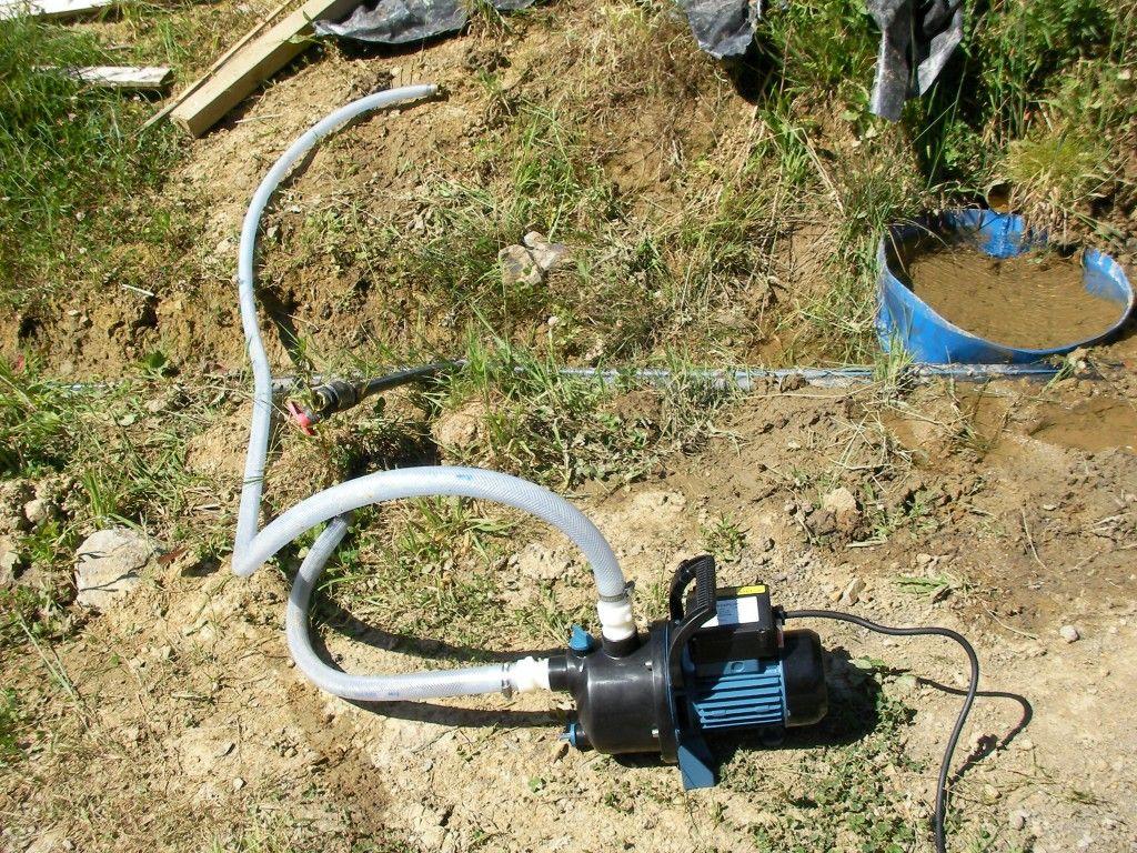 Bomba electrica electrical pump permacultura aralar - Bomba agua electrica ...